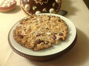 Primo tentativo torta crumbles....terminata in 10 minuti!!!!!!