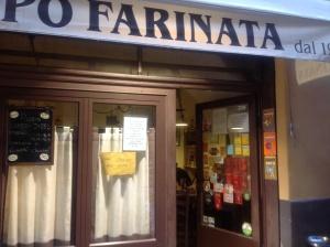Farinata da Puppo  ad Albenga ,il paradiso della farinata