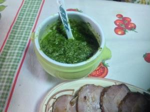 Pesto di prezzemolo ovvero : bagnet verd a modo mio